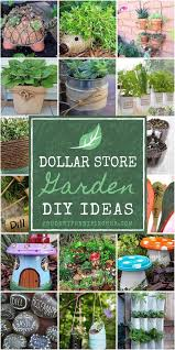 Brilliant garden junk repurposed ideas create artistic landscaping Upcycled 100 Dollar Store Garden Diy Ideas Diy Crafts 100 Dollar Store Garden Diy Ideas Prudent Penny Pincher