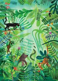 the jungle book by rudyard kipling cover ilration by marc martin