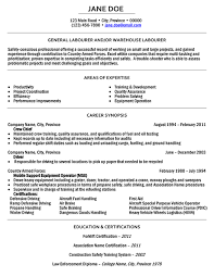 Resume Examples For Oil Field Job