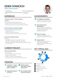 Examples Of Successful Resumes Successful Resumes Student Enhancv 27