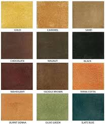 Behr Semi Transparent Concrete Stain Color Chart Exrjp Info