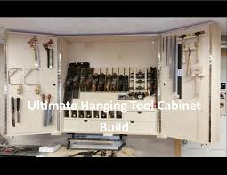 Tools Needed To Build Cabinets Ultimate Hanging Tool Cabinet Pt1 Youtube