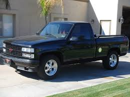 hooniverse obscure muscle car garage the 1990 93 chevrolet 1990 chevrolet c k 1500 454 ss 2wd pic 46864