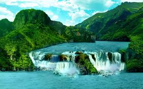 Waterfall Paradise Wallpapers - Wallpaper Cave