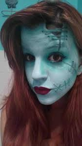 mugeek vidalondon from transformation steps from the nightmare before sally makeup transformation steps fantasy transformations