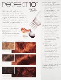 Amazon.com : Clairol Perfect 10 By Nice 'N Easy Hair Color 006r Light  Auburn 1 Kit (Pack of 2) : Chemical Hair Dyes : Beauty
