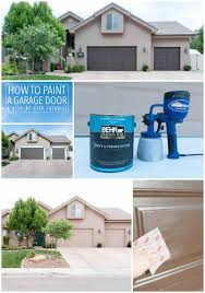 paint garage doorHow to Paint Garage Doors and Add Curb Appeal to your Home  All