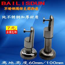 public bathroom partition hardware. get quotations · public toilet partition accessories hardware stainless steel support bracket feet bathroom a