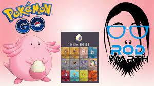 Pokemon Go - Lista De Ovos E Pokemon Rosa! - YouTube