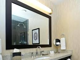 frame bathroom mirror wood frame bathroom mirror inside wooden decorations frame bathroom mirror over plastic clips frame bathroom mirror