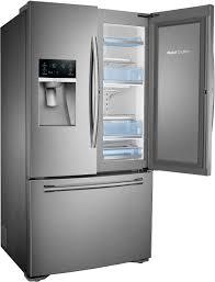 refrigerator leaking water on floor samsung 23 cu ft counter depth 3 door food showcase refrigerator
