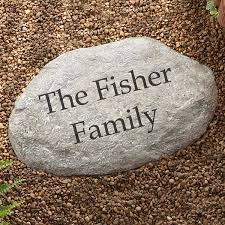 personalized garden stepping stones 7970
