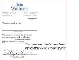 Free Doctors Note For Work 14 Fake Doctors Note Free Simple Invoice