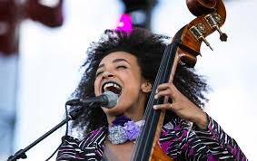 esperanza spalding performs during the 2017 jazz in the gardens at the hard rock stadium in miami gardens aaron gilbert mediapunch ipx