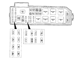 fuse box diagram for 2005 mazda tribute fuse wiring diagrams online