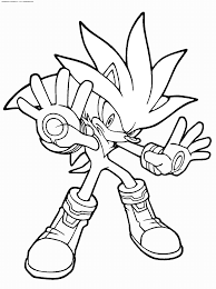 Coloring Pages Sonic Vs Shadow Coloring Pages For Kids And Theog