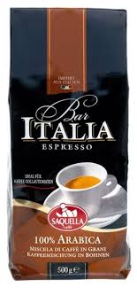 <b>Кофе</b> в <b>зернах Saquella</b> Espresso Bar Italia Arabica — купить по ...