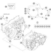 ktm engine diagram ktm diy wiring diagrams description 2011 ktm 250 xc w usa engine case parts best oem engine case parts for 2011 250 xc w usa bikes
