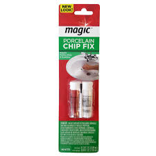 magic porcelain chip fix repair for tubs and sink