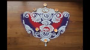 Diwali Rangoli Designs Sanskar Bharti Simple Freehand Sanskar Bharti Rangoli Design For Diwali