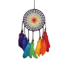 Find great deals on ebay for chakra wall hanging. Colorful Rainbow Chakra Beads Feather Dream Catcher Wall Hanging Decor Ornament Native American Us Chsalon Collectibles