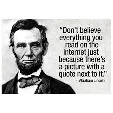 Internet Quotes Gorgeous Abraham Lincoln Internet Quote Poster HOME OFFICE Pinterest