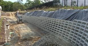 precast concrete crib retaining walls
