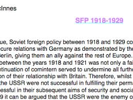 charis mcinnes s shop teaching resources tes history a level success of soviet foreign policy 1918 29 essay plan