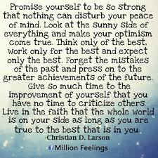 Promise Yourself To Be So Strong Quote Best of Quotes And Images About Life Inner Peace Positive And Negative