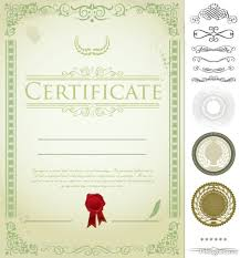 certificate template pages 4 designer certificate template design 04 vector material