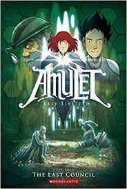 the last council amulet 4 kazu kibuishi 8580001063584 amazon books
