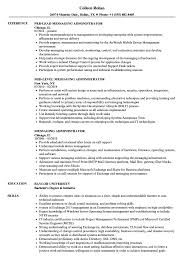 Messaging Administrator Sample Resume Messaging Administrator Resume Samples Velvet Jobs 1