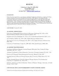Physical Therapist Resume Free Resume Example And Writing Download