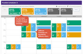block schedule maker myplan schedule builder student systems help center