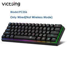 VicTsing PC335/PC356 60 Phần Trăm Không Dây Chơi Game Cơ Khí Bàn Phím, Bàn  Phím