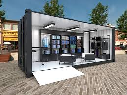 container office design. Exhibition Design \u0026 HDRI Rendering For The Ben Sherman\u0027s Container Office
