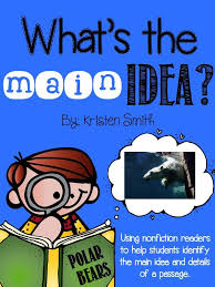 Main Idea and Details Worksheets for First Grade   Homeshealth.info