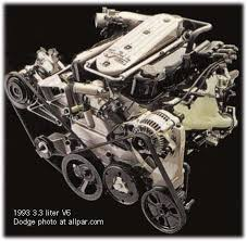 chrysler dodge 3 3 and 3 8 v6 engines ford s taurus engines and gm s 3 8 used pushrods so why not us 3 3 liter dodge v6