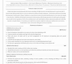 Medical Administrative Assistant Resume Sample Resume Template Example Of An Objective On Elegant Administrative 89
