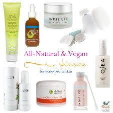 vegan skincare for acne e skin