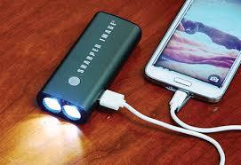 Smartphone Battery Backup Sharper Image