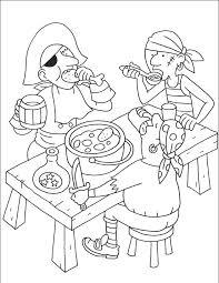 Aadje Piraatje Kleurplaat Thema Piraten Juf Stephanie Kleurplatenlcom