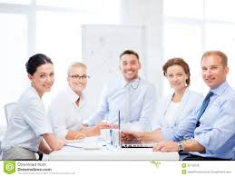meeting free business team having meeting in office stock photo image of