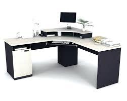 sauder harbor view desk computer with hutch salt oak reviews