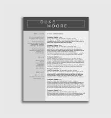 Free 54 College Student Resume Templates Microsoft Word Format
