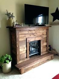 fake fireplace insert electric inserts small pallet wood faux bill flames best fi