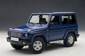 new release of carAUTOart Release New Color Option For MercedesBenz GClass Scale