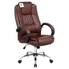 santana brown high back executive office chair leather brown leather computer chairs uk