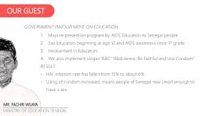 essay analysis what the rest of africa could learn about aids by jes  anggraini oktavia social ministries of senegal 9
