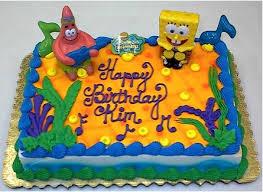 Spongebob Birthday Cake Spongebob Birthday Cake Recipes 2012